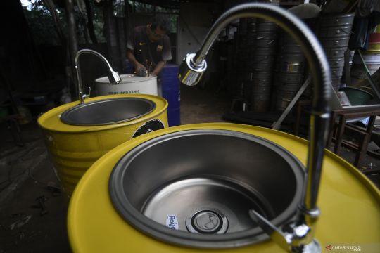 Produksi wastafel drum