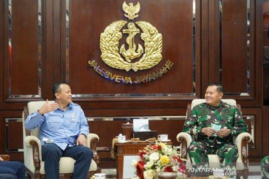 Perkokoh penjagaan kekayaan laut nasional, Menteri Edhy bertemu Kasal