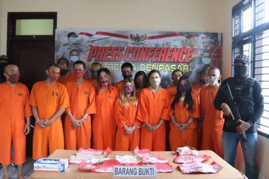Polresta Denpasar tangkap pengedar narkotika warga Amerika