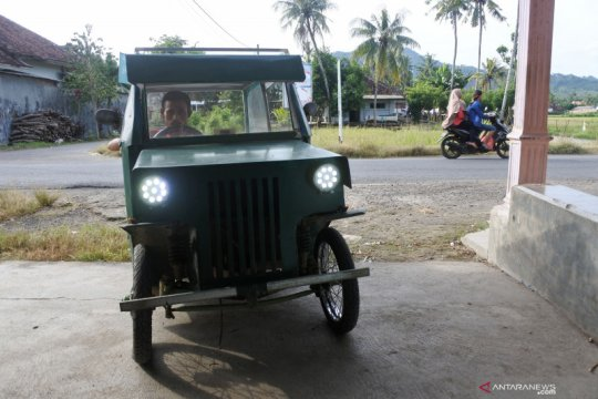 Kendaraan listrik rakitan warga Jember