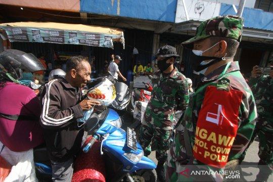 Patroli Penerapan Protokol Kesehatan COVID-19