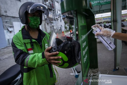 Polda Metro Jaya izinkan ojol dan angkutan logistik melintas saat PPKM Darurat