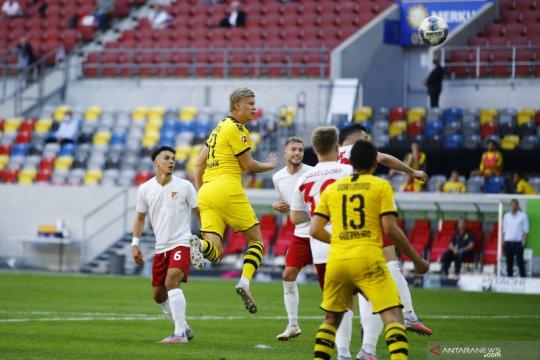 Gol Haaland amankan kemenangan Dortmund
