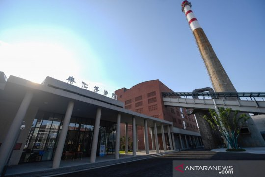 Bangunan bekas pembangkit listrik disulap menjadi museum seni