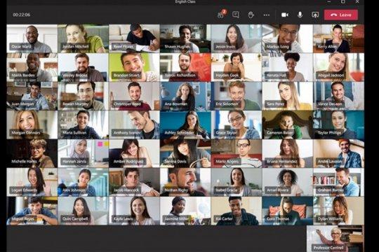 Microsoft Teams akan tampilkan 49 orang dalam satu layar mirip dengan Zoom