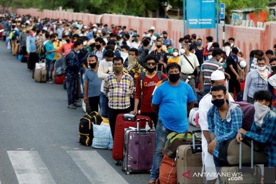 Kasus COVID-19 di India tembus 9,4 juta