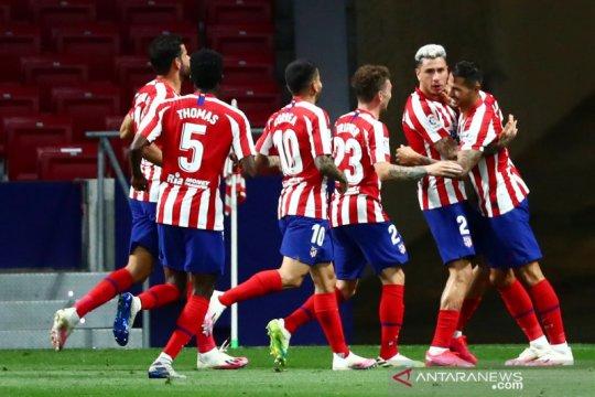 Atletico ke peringkat tiga usai menang atas Valladolid