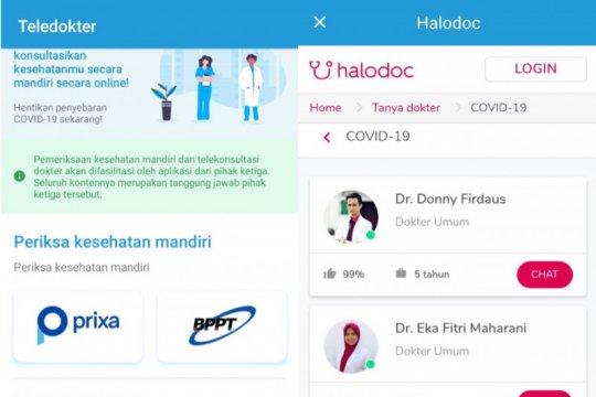 Aneka aplikasi bantu penanganan COVID-19