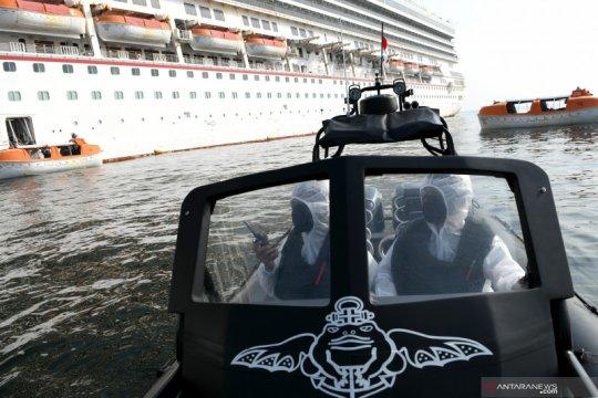 Kopaska kawal evakuasi WNI ABK kapal pesiar di tengah pandemi COVID-19