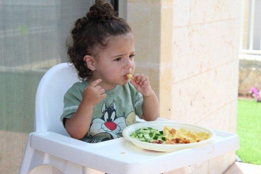 Tips agar anak terbiasa makan sayur