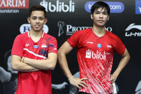 Rian/Daniel cetak kemenangan pertama dalam turnamen internal