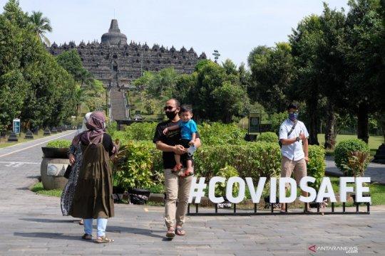 Wisata Candi Borobudur dibuka untuk umum