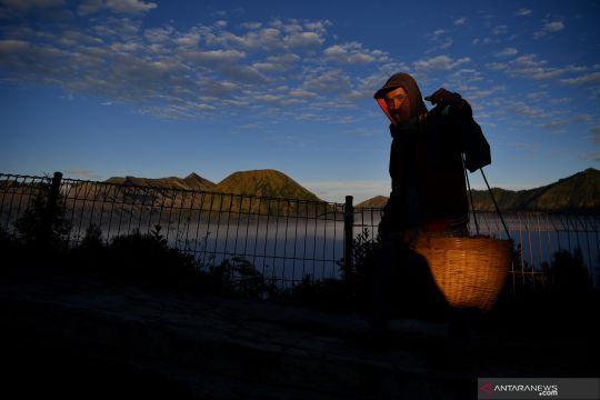 Suasana kawasan wisata Gunung Bromo