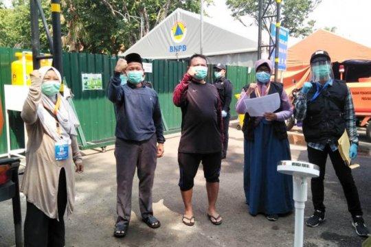 Pasien sembuh dari COVID-19 di RS Lapangan Surabaya mencapai 2.070 orang