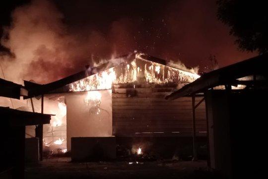 Delapan unit rumah polisi di Aceh Utara ludes terbakar
