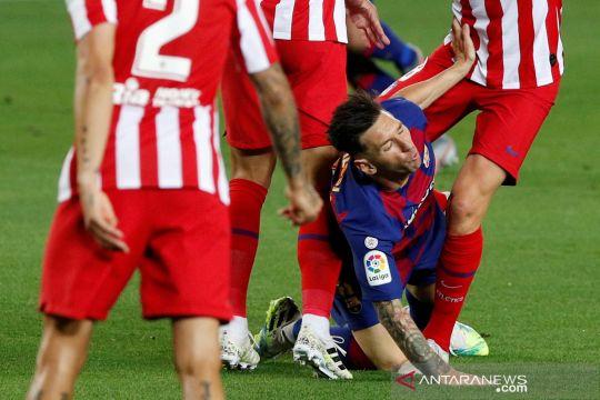 Liga Spanyol: Barcelona vs Atletico Madrid berakhir imbang