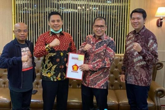 Partai Gerindra rekomendasikan pasangan Danny-Fatma untuk Pilkada Makassar