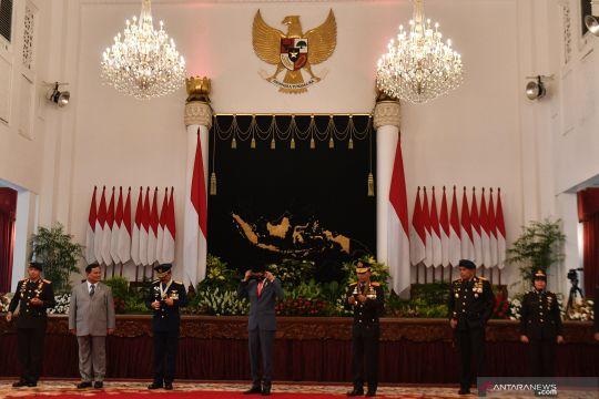 Peringatan Hari Bhayangkara di Istana Negara