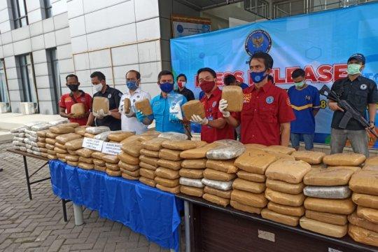 BNN gagalkan penyelundupan 298 Kg ganja asal Aceh untuk diedarkan di Banten