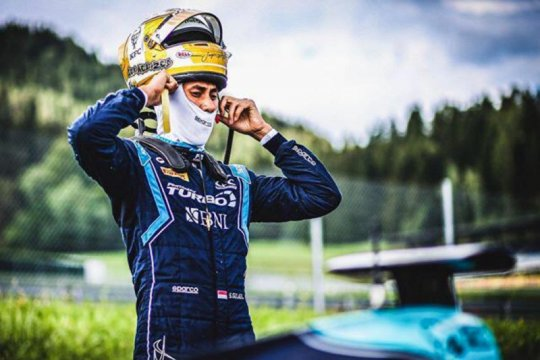 Sean Gelael gagal di race pertama pada Formula 2