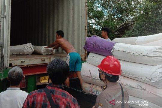 Petani Bangka ekspor 12 ton lidi nipah