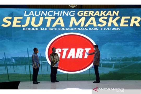 Peluncuran Gerakan Sejuta Masker
