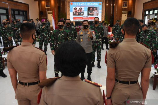 Pembekalan Calon Perwira Remaja TNI-Polri