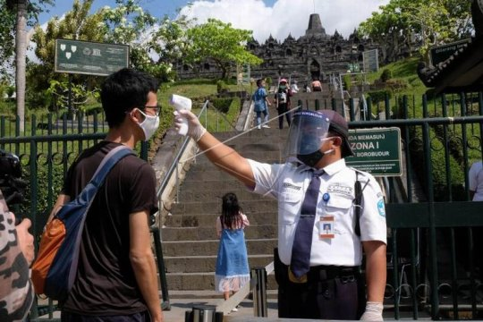 Zona 1 Candi Borobudur dibuka untuk umum Page 1 Small