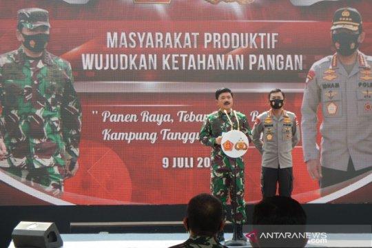 Panglima TNI-Kapolri resmikan 7.024 Kampung Tangguh di seluruh Indonesia