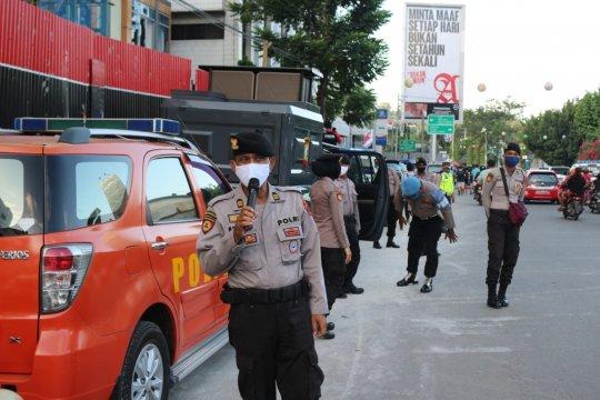 Satgas Aman Nusa gelar patroli untuk pencegahan COVID-19