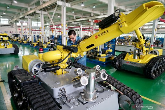 Industri robotik di China