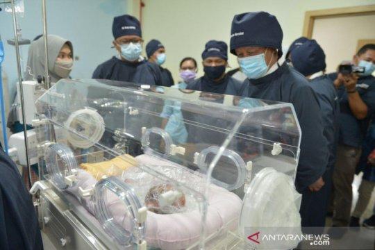 Bayi di Batam terlahir Herlequine Ichtyosys
