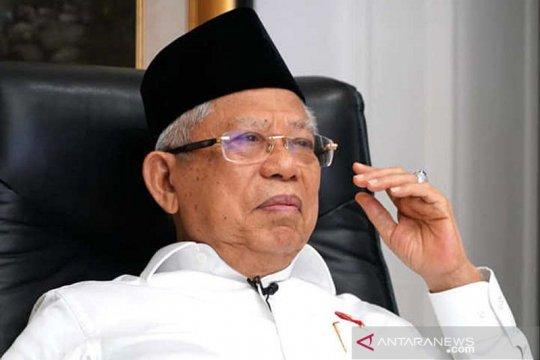 Wapres Maruf Amin minta sertifikat halal internasional untuk produk Indonesia