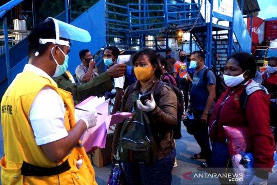 46 penumpang KM Gunung Dempo dikarantina karena dokumen kesehatan tidak lengkap