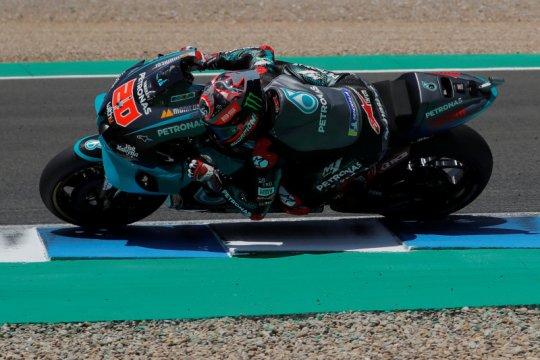 Quartararo juarai GP Andalusia, Yamaha kuasai podium