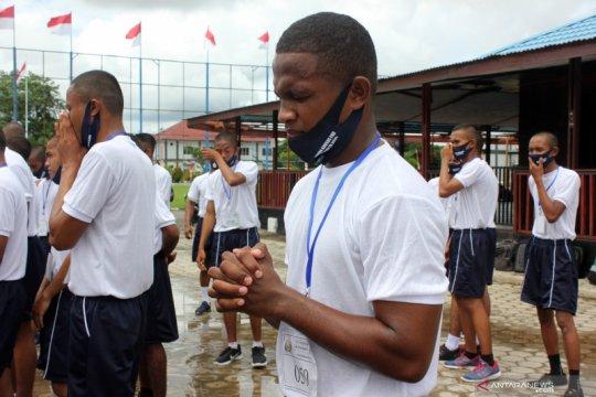 Perekrutan prajurit TNI AL khusus Papua