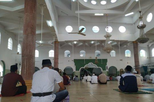Sholat Idul Adha di masjid Pangkalpinang terapkan protokol kesehatan