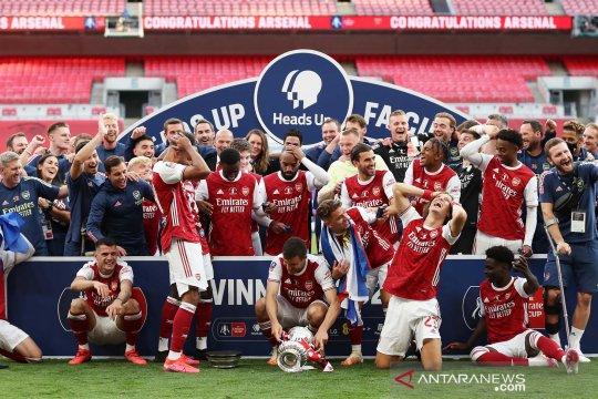 Arsenal menjuarai Piala FA