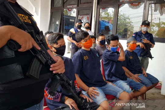 30 tersangka kasus narkotika ditangkap BNN Jateng pada semester pertama