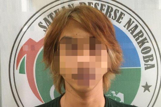Miliki Ganja, Seorang pemuda diciduk Satresnarkoba Polres Pandeglang
