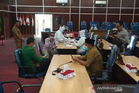 14 anggota DPRD Kota Bengkulu jalani rapid test
