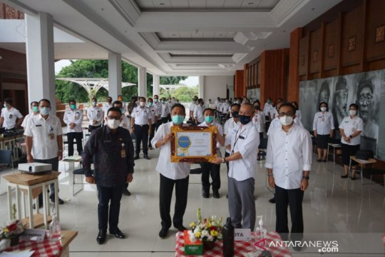 Denpasar dapat penghargaan nasional BPS atas sukses pelaksanaan SP