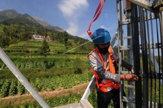 Jaringan XL Axiata di lereng Gunung Merapi Page 2 Small