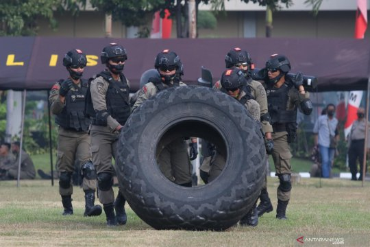 Polda Jawa Timur gelar lomba keahlian anggota kepolisian