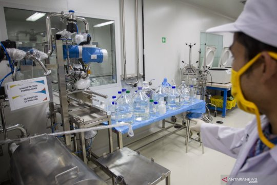 """Bio Farma projected COVID-19 vaccine """"Merah Putih"""" roll-out by 2022"""