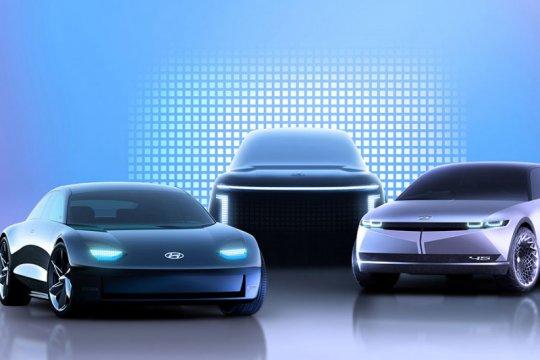 Hyundai siap luncurkan empat mobil listrik baru berbasis IONIQ