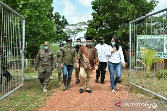 Gubernur Babel apresiasi PT Timah bangun Kampoeng Reklamasi Pusat Penyelamatan Satwa