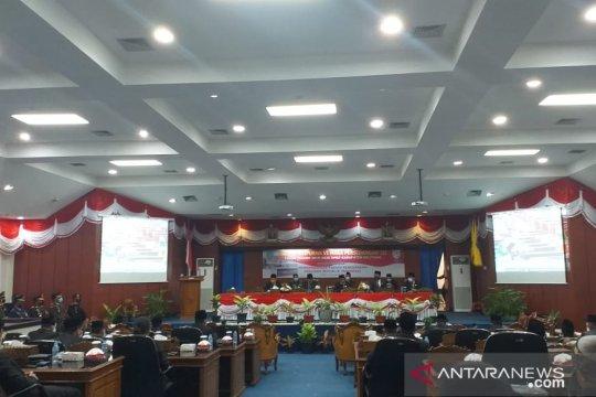 DPRD Belitung gelar paripurna dengarkan pidato kenegaraan Presiden RI