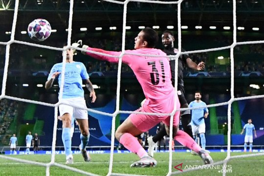 Olympique Lyon mengubur mimpi Manchester City untuk menjuarai Liga Champions