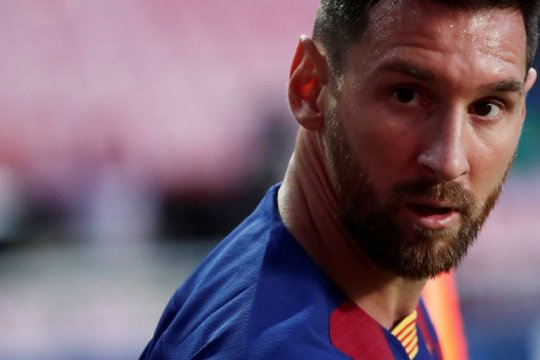 Manchester City menunjukkan keseriusannya untuk membeli Lionel Messi